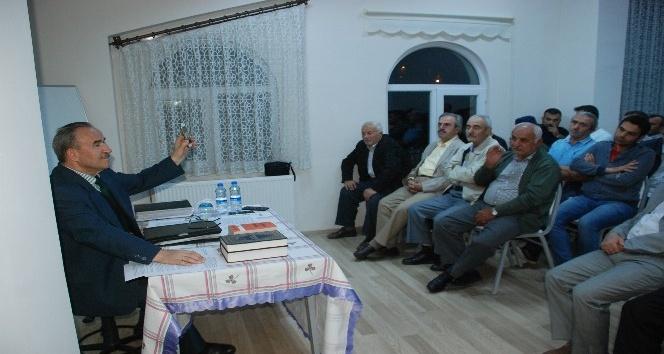 Prof. Dr. Ramazan Ayvallı, gençlerle bir araya geldi
