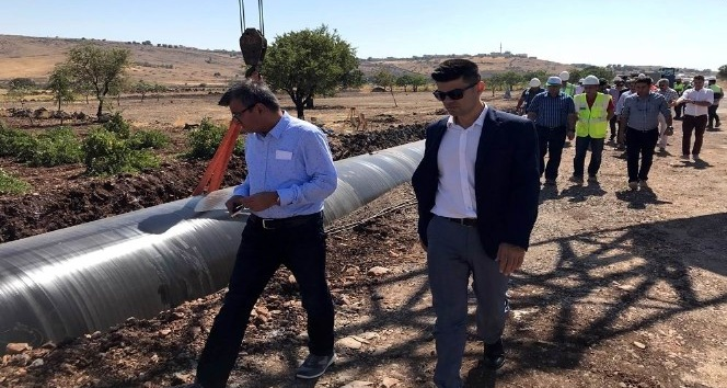 Gaziantep'in su sorununu çözecek projede çalışmalar son sürat