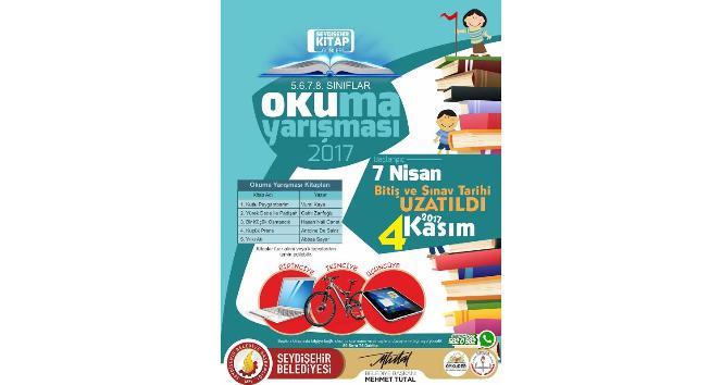 Seydişehir'de kitap okuma yarışması başvuruları 4 Kasım'da sona erecek