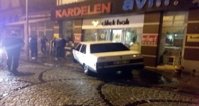 Alkollü sürücü yollara sığmadı