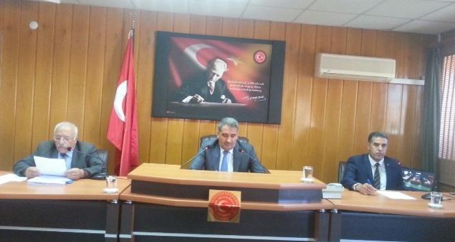 Adıyaman İl Genel Meclisi Ekim ayı toplantısı yapıldı