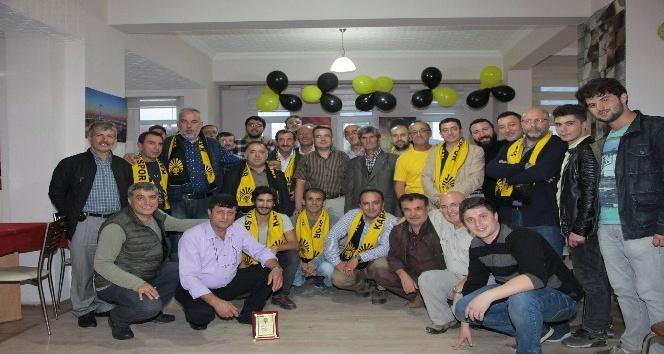 Kargı Seri Spor kulüp lokali hizmete açıldı