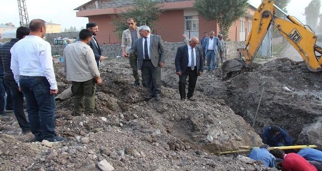 Kars Belediyesi'nden içme suyu şebekesi yenileme çalışması