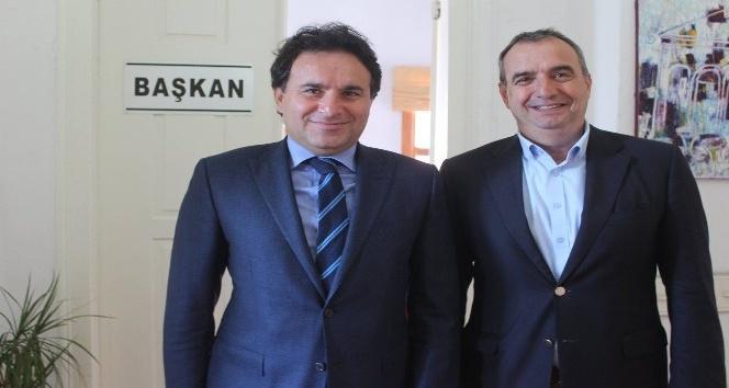 Kaymakam Görgülüaslan'dan Başkan Gençer'e iade-i ziyaret