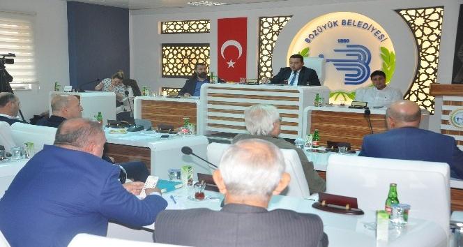 Bozüyük Belediye Meclisinin Ekim ayı olağan meclis toplantısı yapıldı