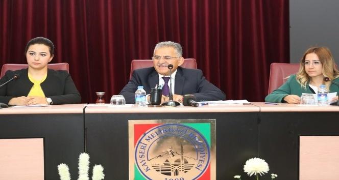 Melikgazi Belediyesinde Ekim ayı meclis toplantısı yapıldı