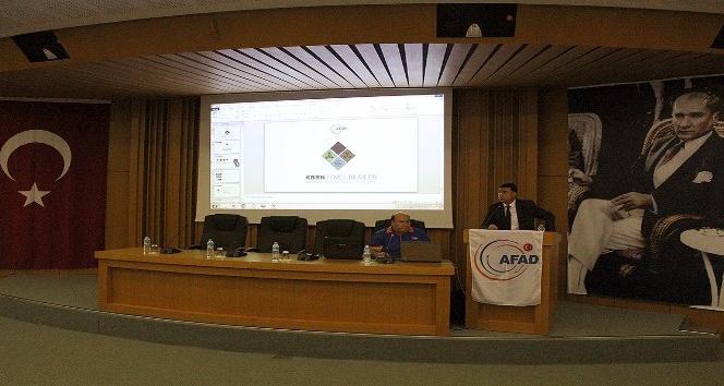 AFAD'tan KBRN Farkındalık ve Şüpheli Posta Eğitimi