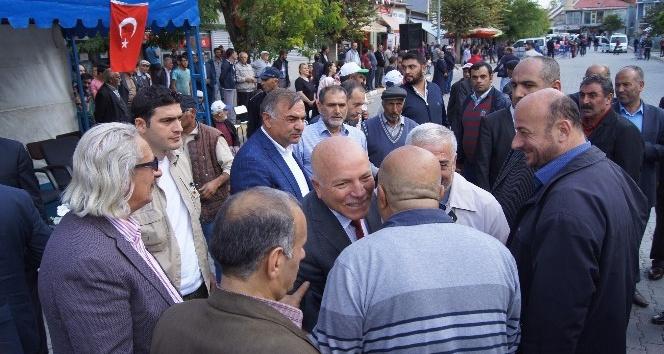 Başkan Sekman'den Kaymakam Öter'e ziyaret