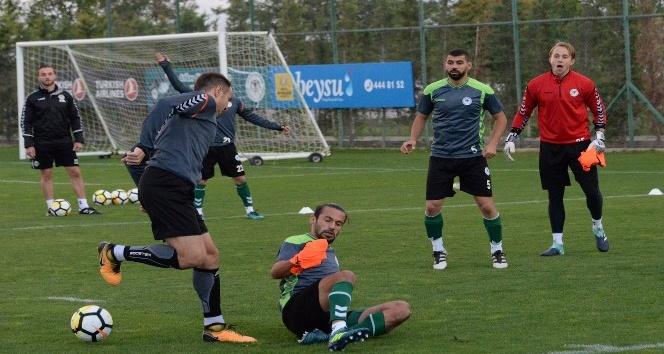 Atiker Konyaspor'da hazırlıklar sürüyor