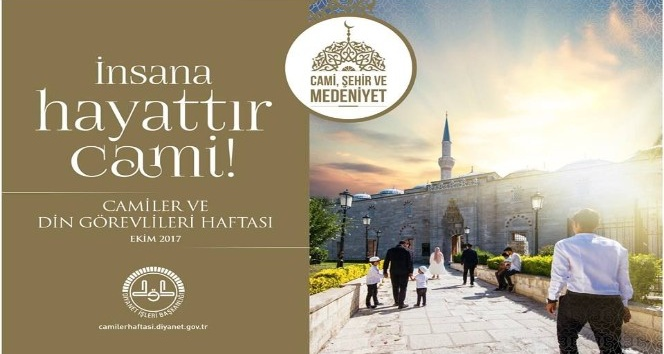 Başkan Alıcık'ın Camiler ve Din Görevlileri Haftası kutlama mesajı