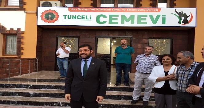 Beşiktaş Belediyesi Tunceli'de iftar verdi