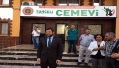 Beşiktaş Belediyesi Tuncelide iftar verdi