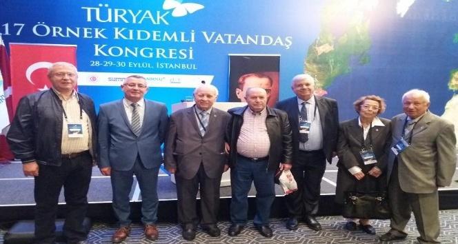 Feyzullah Aktan'a 'Örnek Kıdemli Vatandaş' ödülü
