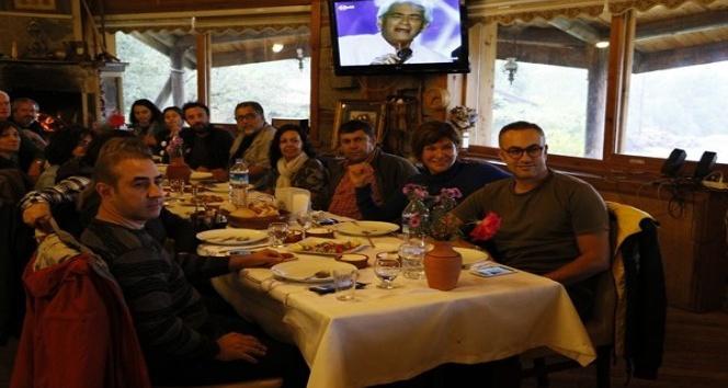 Kesimoğlu İstanbul'dan gelen gezginlerini konuk etti