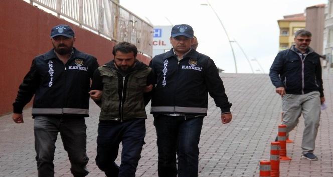 Kayseri'de telefonla 50 bin TL dolandıran şahıs yakalandı