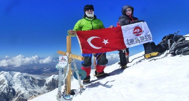 (Özel Haber) İşte Tanrı Dağı'nı aşan ilk Türk