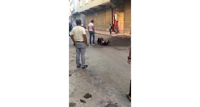 Kocası tarafından bıçaklanan kadının cep telefonu görüntüleri