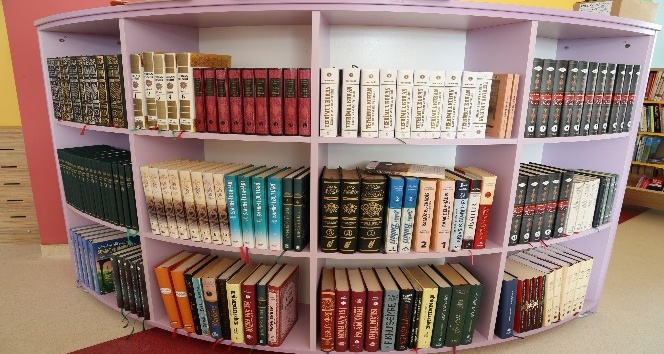 Meram Belediyesi'nden 15 okula 15 Z-Kütüphane
