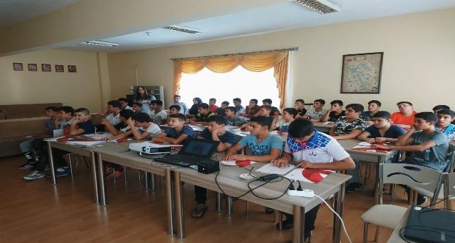 Aydın'da bağımlılıkla mücadele eğitimleri devam ediyor