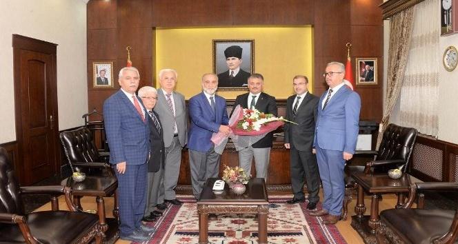 Din adamları Vali Yazıcı'yı ziyaret etti