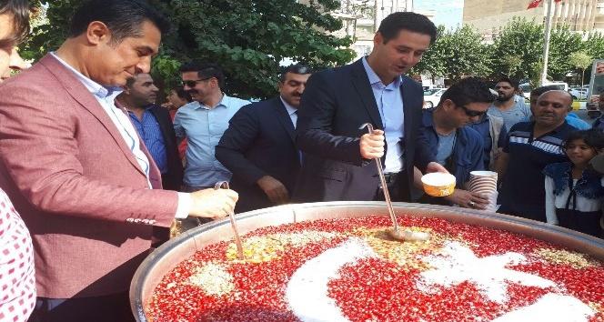 Bismil Belediyesinden 10 bin kişiye aşure ikramı