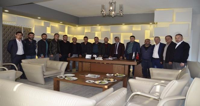 AK Parti'den Başkan Yiğit'e ziyaret
