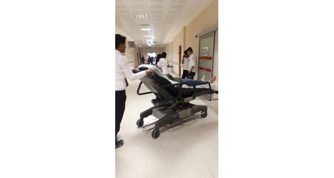 Dişçi de bayılan hasta, yaralandı