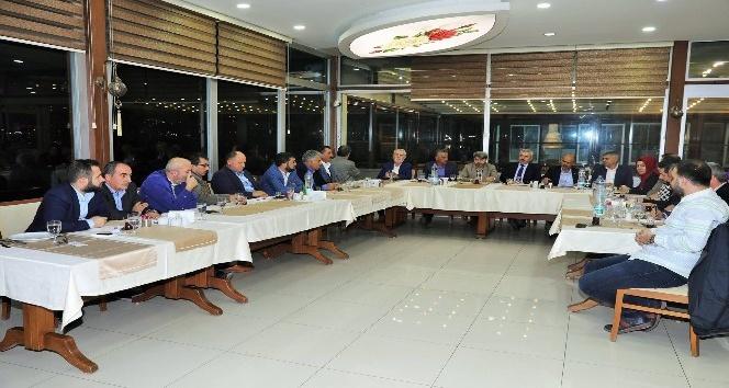 Başkan Baran, AK Parti İlçe Başkanı Badem'e teşekkür etti