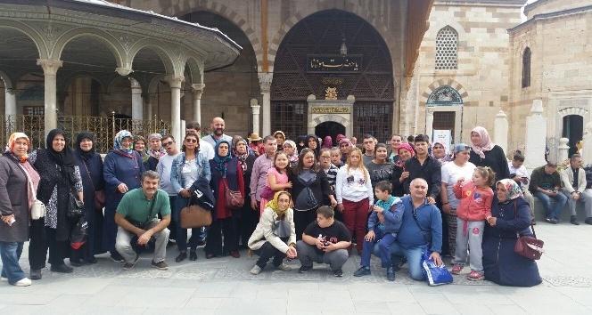 Tokat Belediyesi özel çocuklara Konya'yı gezdirdi