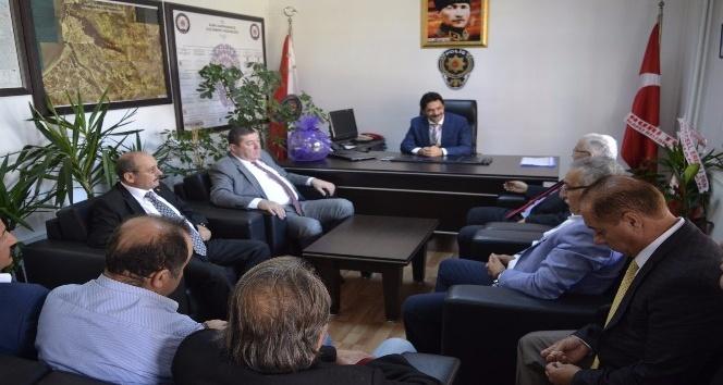 Alaplı Belediye Başkanı Nuri Tekin'den ziyaret