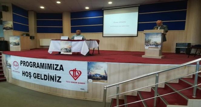 "Sincik'te  ""Cami, Şehir ve Medeniyet"" konulu konferans"