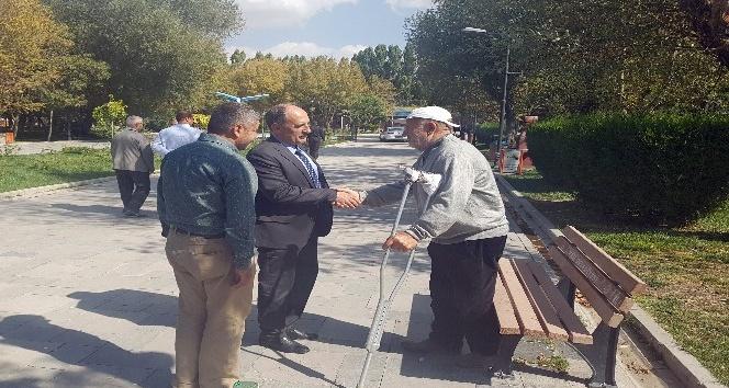 Genel Sekreter Yardımcısı Yaşar, park ve bahçeleri inceledi