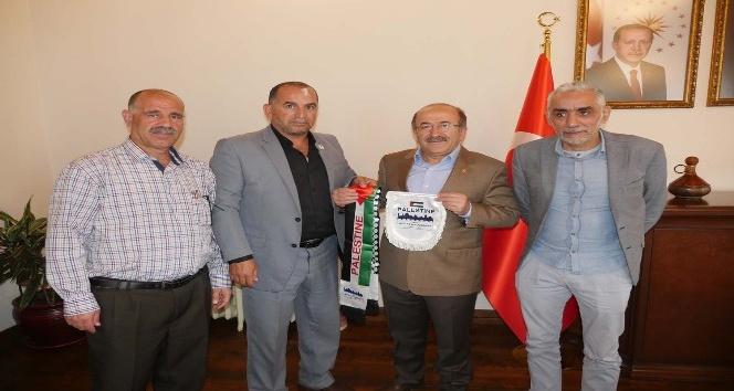 Filistin'den Trabzon'a spor köprüsü kuruluyor