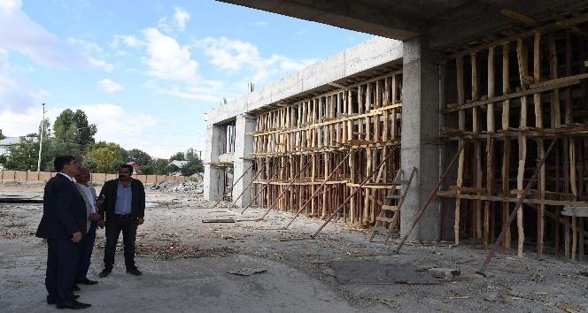 Muş'ta Şehirlerarası terminal inşaatı tüm hızıyla devam ediyor
