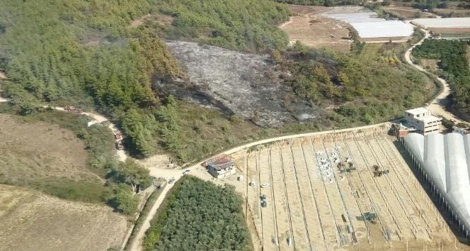 Manavgat'ta 2 ayrı orman yangını