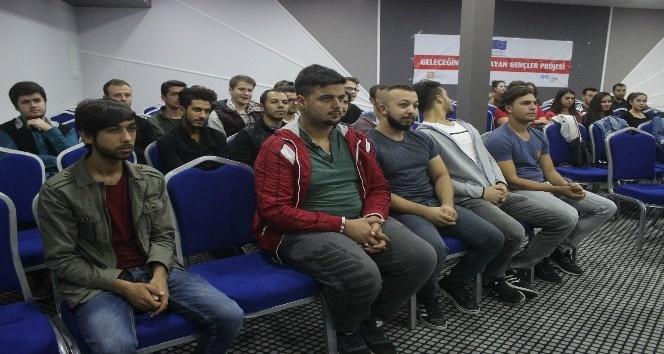 Edirne'de, 'Geleceğini tasarlayan gençler projesi' tamamlandı