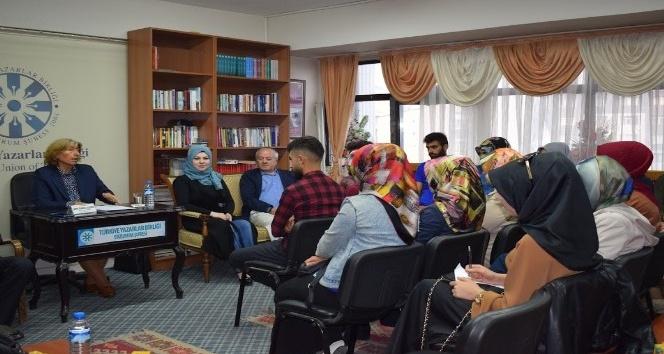 TYB Erzurum Şubesi Özeren'i konuk etti