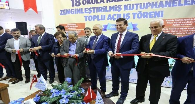 Merkezefendi'nin kazandırdığı 18 kütüphane törenle açıldı