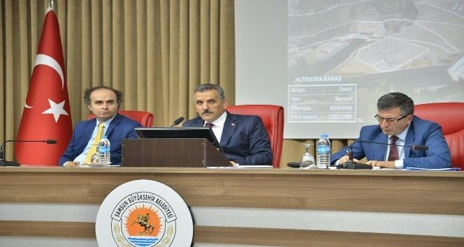 Samsun'a bin 58 proje için 6 milyardan fazla yatırım