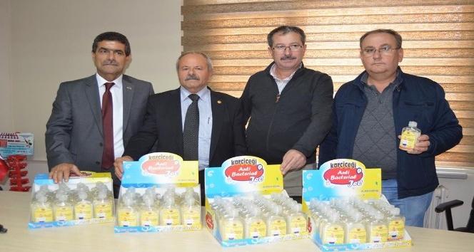 Edirne'de bakkal esnafına ücretsiz el dezenfeksiyon jeli dağıtılacak