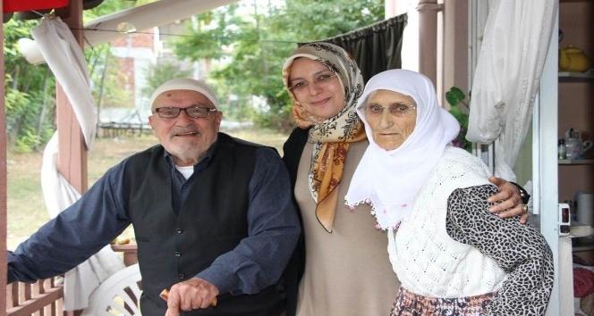 Vali Osman Kaymak'ın eşi şehit ailelerini unutmadı