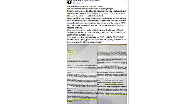 MHP'li Belediye Başkanı Vergili'den Akşener'e '28 Şubat' göndermesi