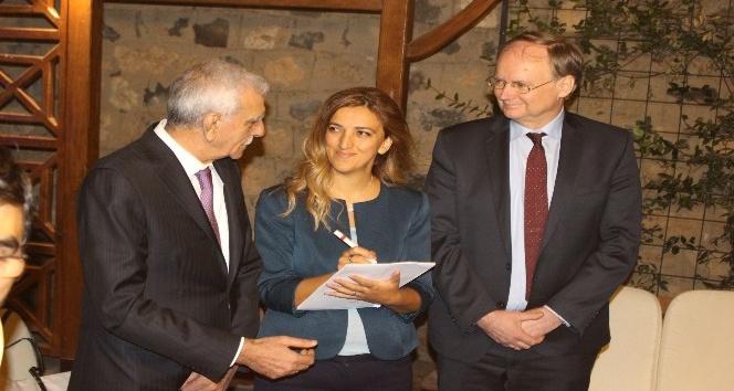AB Büyükelçileri Ahmet Türk'le bir araya geldi