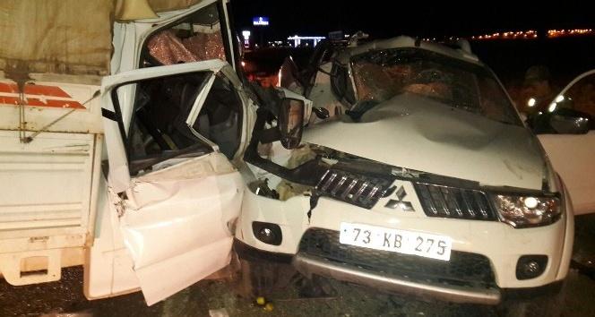 Midyat'ta trafik kazası: 1 ölü, 3 yaralı