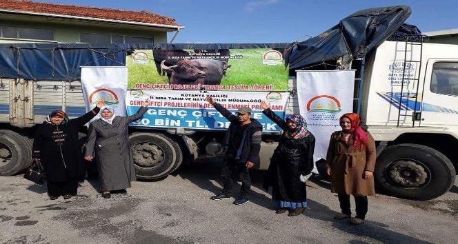 'Genç Çiftçi Projesi'nden yararlanan İhsan Çetin: Devletimizin bize olan güvenini boşa çıkartmayacağım