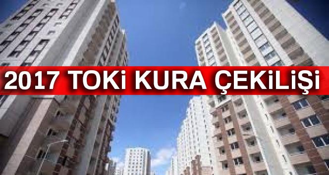 TOKİ Kayaşehir 2017 kura çekiliş sonuçları tam liste