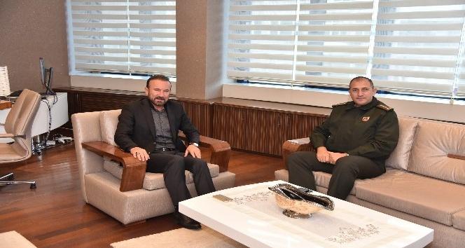 İl Jandarma Komutanından Başkan Doğan'a  Ziyaret