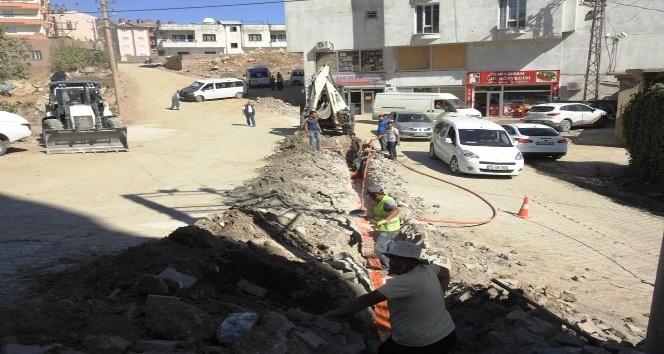 Şırnak belediyesi, ara sokaklarda iyileştirme ve sağlıklaştırma çalışması başlattı