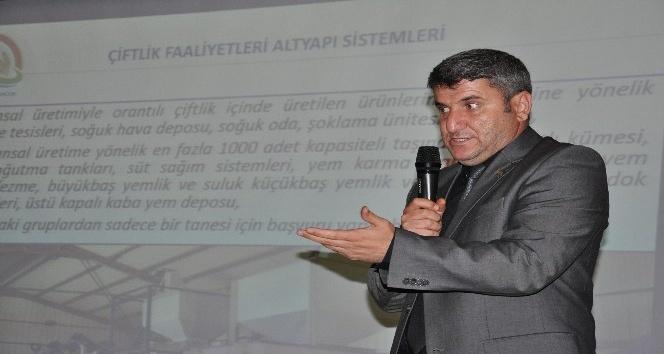 Simav'da 'Kırsal Kalkınma Yatırımlarının Desteklenmesi' tanıtım toplantısı