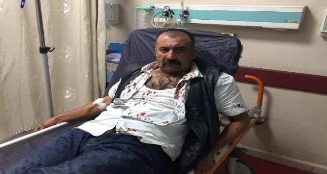 Hastaneye kaldırılan şahıs MHP İlçe Başkanı'ndan şikayetçi oldu